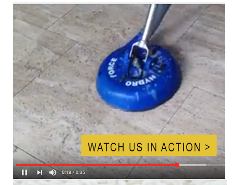 Watch tile cleaning